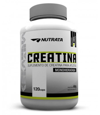 Creatina Nutrata (120caps) - Nutrata