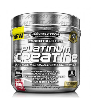 Creatina Platinum (400g) - Muscletech