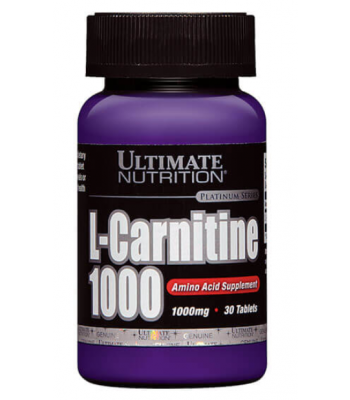 L-Carnitine 1000 (30 Tabs) - Ultimate Nutrition