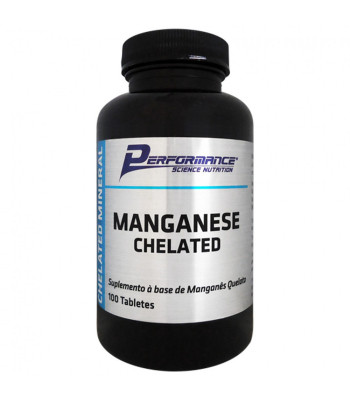 Manganese Chelated (100 tabs) – Performance Nutrition