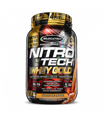 Nitrotech 100% Whey Gold - Muscletech