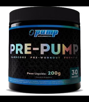 Pre-Pump - Pump Suplementos