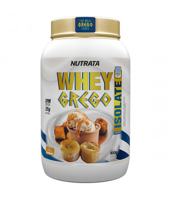 Whey Grego Isolate (900gr) - Nutrata