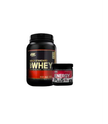 Whey Gold Standard – Optimum Nutrition (900gr) + Energy Plus