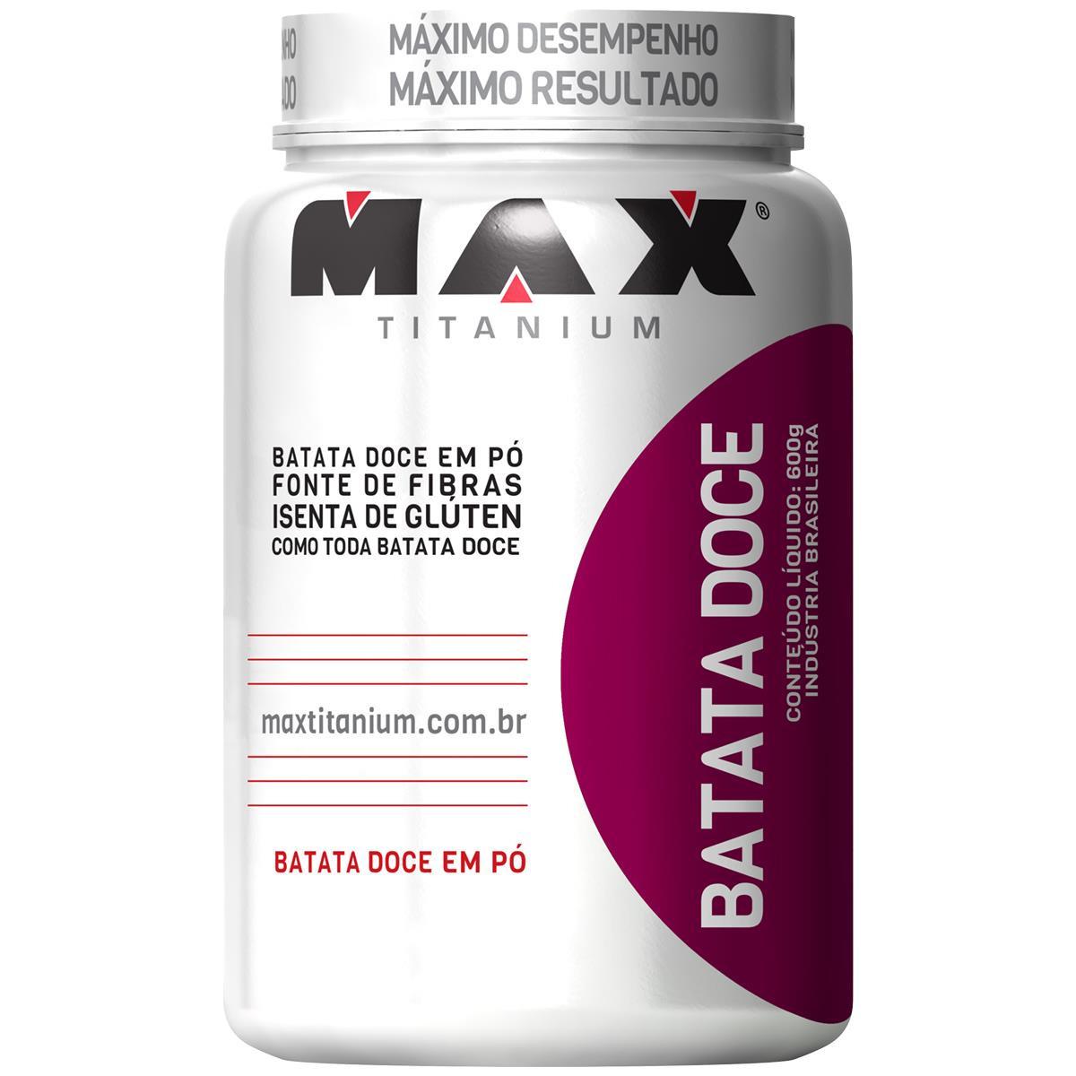 Batata Doce (600gr) - Max Titanium