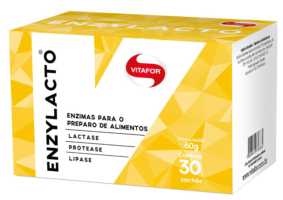 Enzylacto (30 sachês) - Vitafort