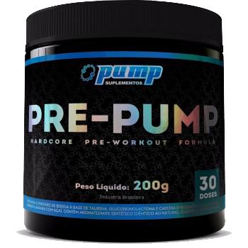 Pre-Pump (225gr) - Fruit Punch - Pump Suplementos