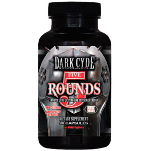 5 Rounds (90 caps) - Dark Cyde Supplements