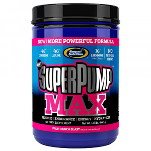 Super Pump Max (640g) - Gaspari Nutrition