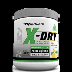 X-Dry (200gr) - Abacaxi com Hortelâ e Limão - Nutrata