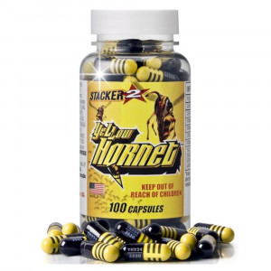 Yellow Hornet (100 caps) - Stacker2