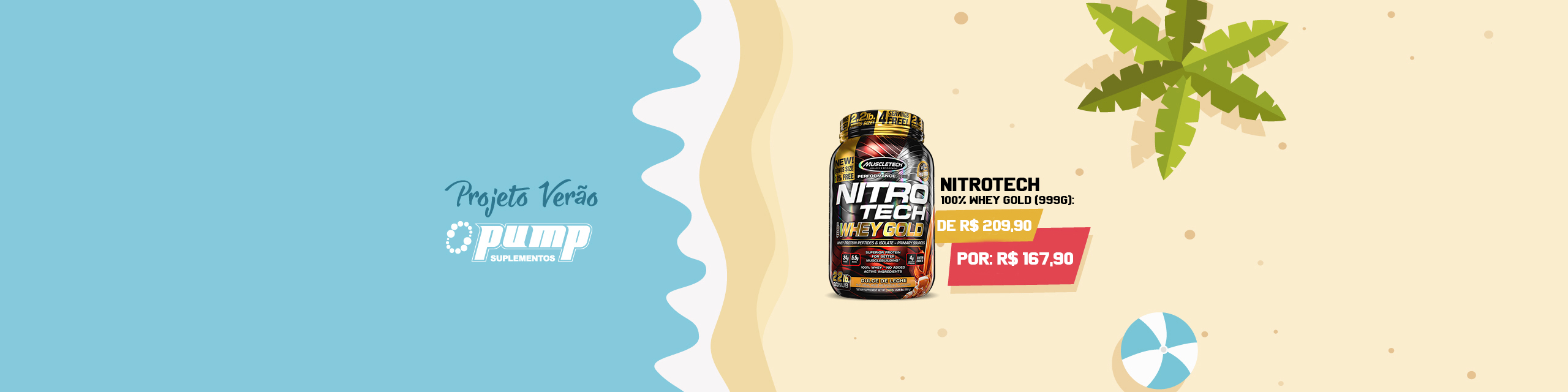 Nitrotech 100% Whey Gold 20% Off