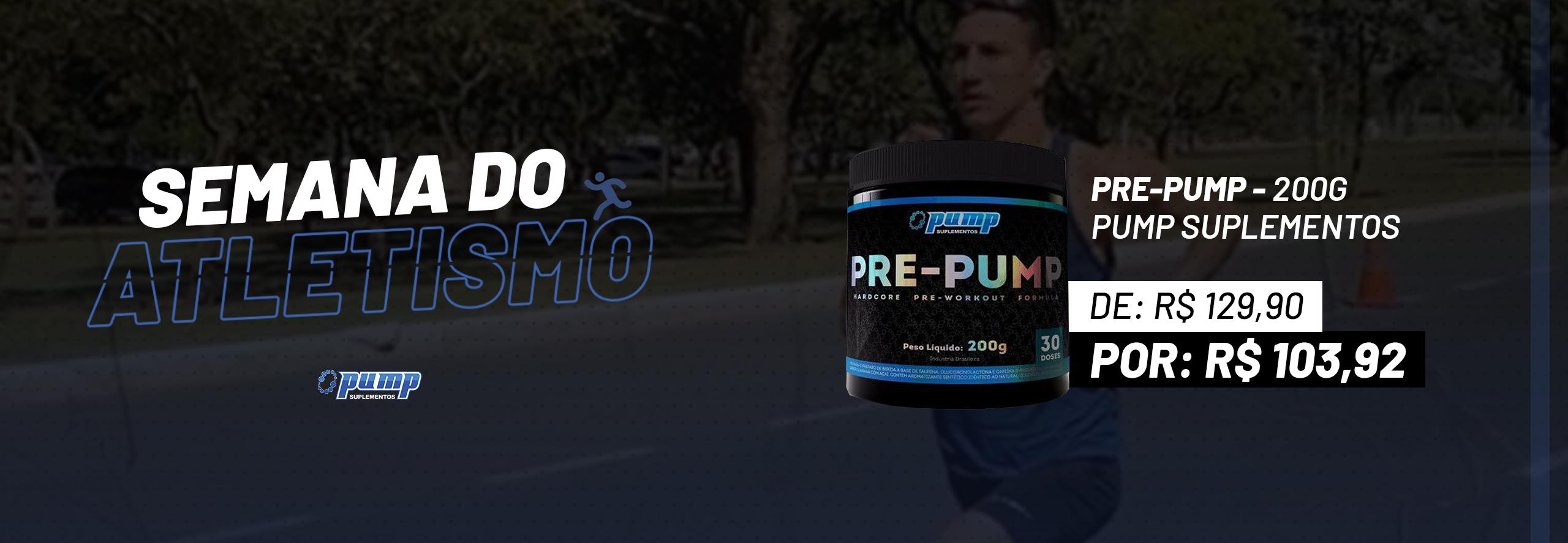 Dia do Atletismo (Pré-pump)