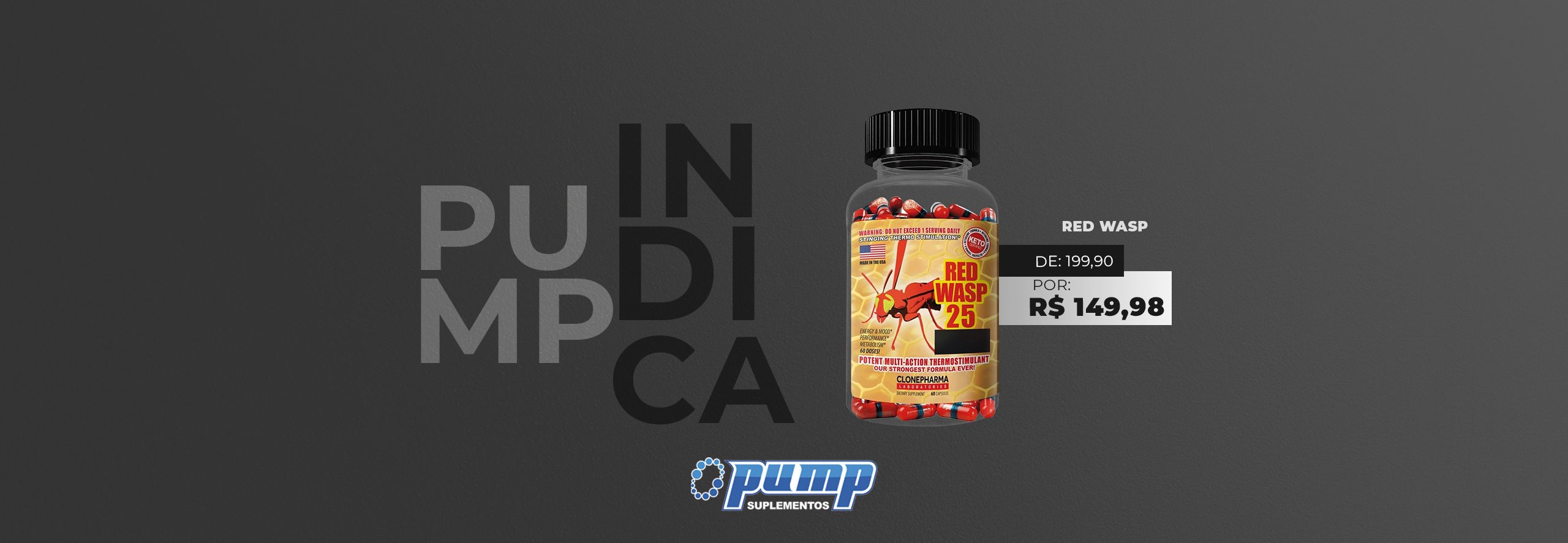 #Pump Indica (Red Wasp)