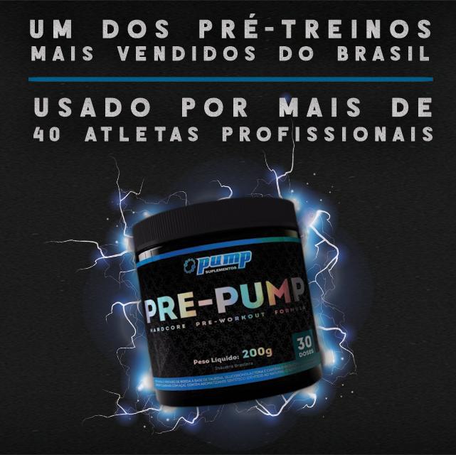 Pre Pump - Pump Suplementos