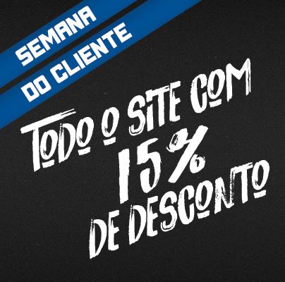 Dia do Cliente - 15% OFF