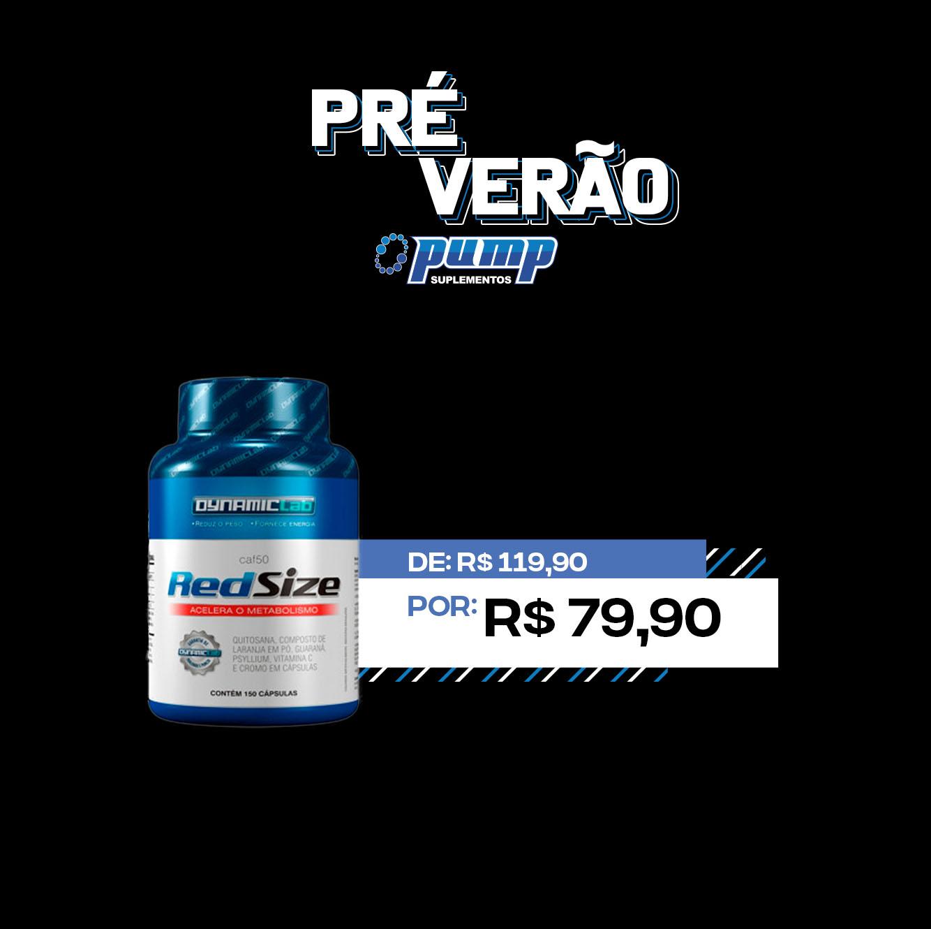 PRÉ VERÃO - Red SIze
