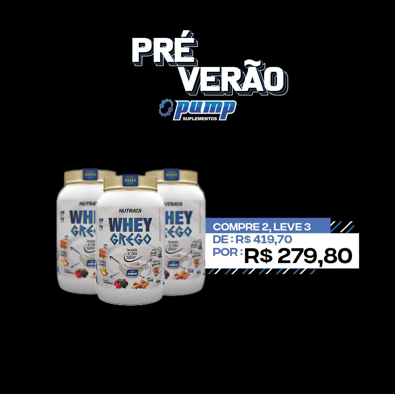 PRÉ VERÃO - Whey Grego