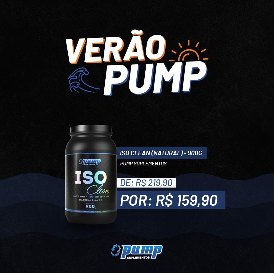 Verão Pump - Iso Clean